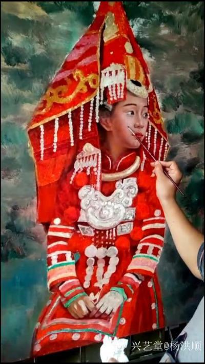 杨洪顺日记-当今画界有一个现象,虽然有些画家的画未必让人信服,可是说话和写文章却满腹经纶,当【图3】