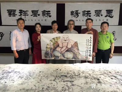 尚建国收藏-一片冰心在玉壶,在深圳开国医馆的张瑞友先生,不但医术精湛、书法了得、而且品行更值【图1】