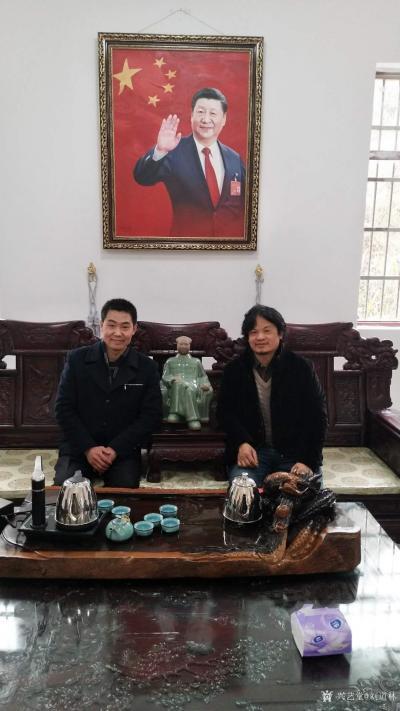刘道林生活-中国书画院刘道林老师和一些名人合影【图5】