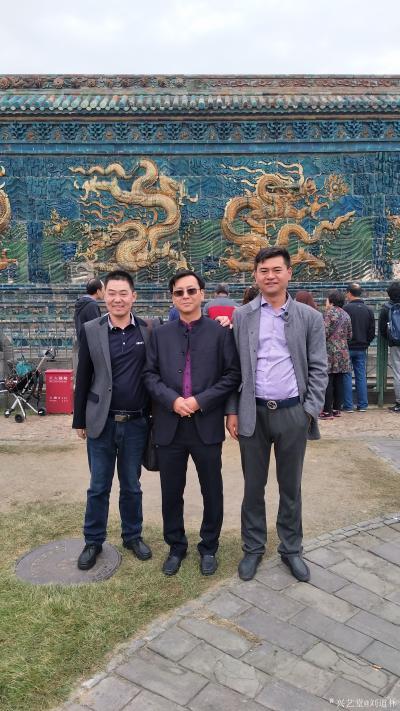 刘道林生活-中国书画院刘道林老师和一些名人合影【图7】