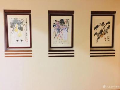 叶仲桥收藏-酒店、家居、大型会所都离不开艺术品的装饰,当然书画是最重的一种方式。   4月【图5】