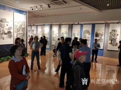 魏杰收藏-《醉美乡情—魏杰中国画作品展》在南昌新四军军部旧址陈列馆隆重开幕。 5月10日【图2】