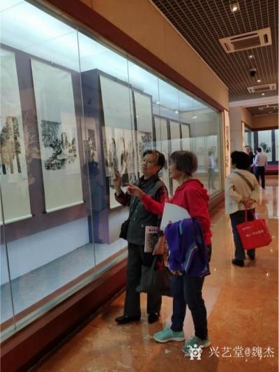 魏杰收藏-《醉美乡情—魏杰中国画作品展》在南昌新四军军部旧址陈列馆隆重开幕。 5月10日【图3】