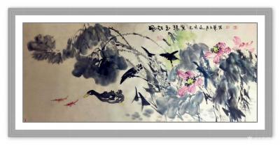 陈子华日记-《沁园春》题牡丹图,李克敏文 影月无痕,凝霞有信,锦萼云裳。 看红娇粉淡,紫【图2】