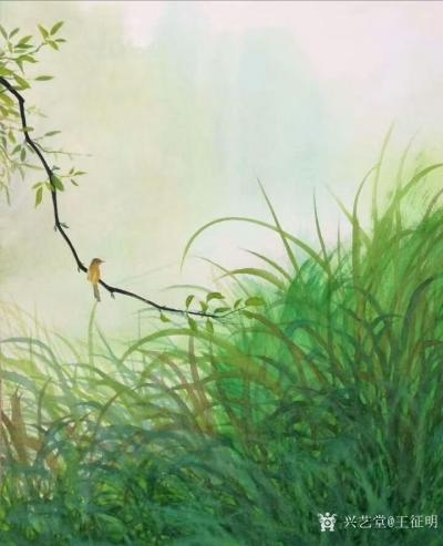 王征明日记-水意画怎样?很多人感觉水意画漂亮,也有人持反对态度说仅有漂亮又能怎样?其实,水意【图1】