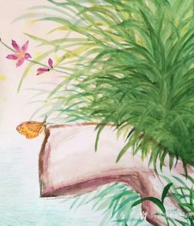 王征明日记-水意画怎样?很多人感觉水意画漂亮,也有人持反对态度说仅有漂亮又能怎样?其实,水意【图4】