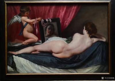 阎敏收藏-在英国伦敦国家美术馆观看世界著名油画作品,大饱眼福;   英国国家美术馆(Th【图3】