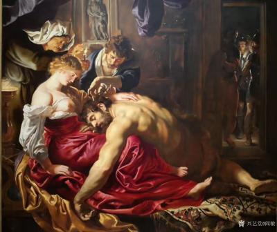阎敏收藏-在英国伦敦国家美术馆观看世界著名油画作品,大饱眼福;   英国国家美术馆(Th【图4】