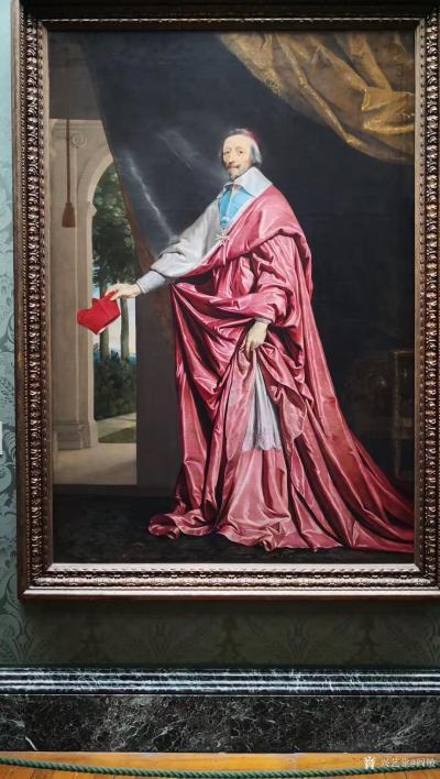 阎敏收藏-在英国伦敦国家美术馆观看世界著名油画作品,大饱眼福;   英国国家美术馆(Th【图5】