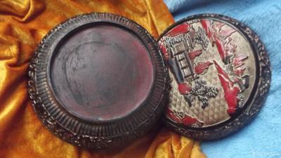 荆古轩收藏-我收藏的清代浅雕老漆盒和杂件。收藏让我快乐,收藏让我感悟历史的丰富多彩和时代的年【图3】