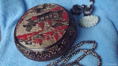 荆古轩收藏-我收藏的清代浅雕老漆盒和杂件。收藏让我快乐,收藏让我感悟历史的丰富多彩和时代的年【图6】