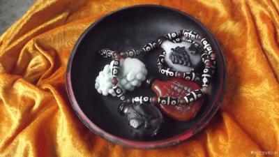 荆古轩收藏-我收藏的清代浅雕老漆盒和杂件。收藏让我快乐,收藏让我感悟历史的丰富多彩和时代的年【图11】