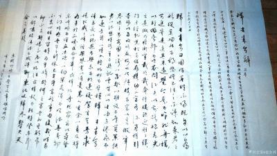 """史介鸿日记-""""书""""为六艺之一,它以汉字为载体,是对文字内容的深刻理解加上个人综合素养、精神状【图1】"""