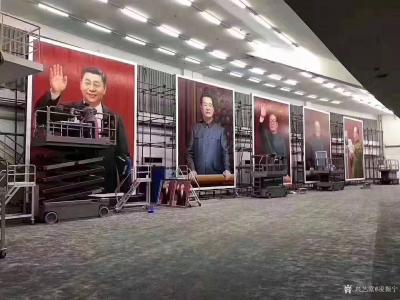 凌振宁收藏-美术从业者的荣耀,建国70周年国庆大典上的画像怎么来的?   热爱祖国,热爱生【图4】