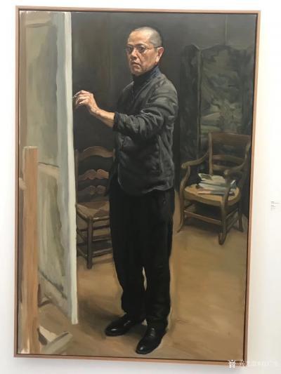 石广生收藏-陈丹青《退步》画展,看后略有感慨。   如同不少画界老师一样,许多人四处游学,【图3】