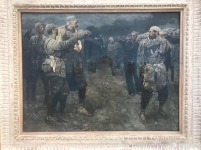 石广生收藏-陈丹青《退步》画展,看后略有感慨。   如同不少画界老师一样,许多人四处游学,【图4】