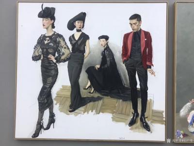 石广生收藏-陈丹青《退步》画展,看后略有感慨。   如同不少画界老师一样,许多人四处游学,【图6】