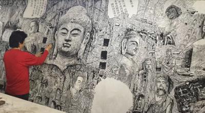 """马培童日记-""""突破焦墨画的""""创作之境""""马培童焦墨画感悟笔记(134)    焦墨画的创作就【图2】"""