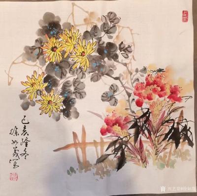 徐如茂日记-中国画画到一定高度,就是画学养,画积淀,将技艺演练到出神入化叫绝活,练到炉火纯青【图4】