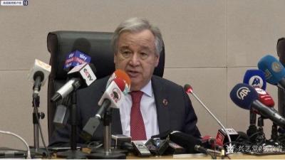 杨牧青日记-2月8日,联合国秘书长古特雷斯在亚的斯亚贝巴非盟总部举行的新闻发布会上称赞,中国【图1】