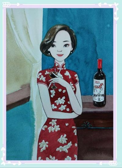 刘晓宁日记-香香民国漫画一个女子的温婉,彰显于她的柔软与慈善。彰显于她历经岁月沧桑后,还依然【图2】