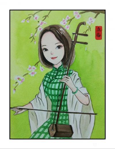 刘晓宁日记-香香民国漫画一个女子的温婉,彰显于她的柔软与慈善。彰显于她历经岁月沧桑后,还依然【图3】