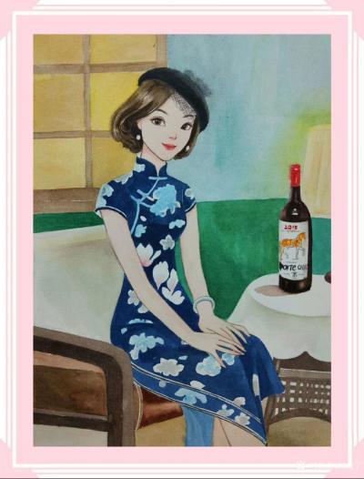 刘晓宁日记-香香民国漫画一个女子的温婉,彰显于她的柔软与慈善。彰显于她历经岁月沧桑后,还依然【图4】