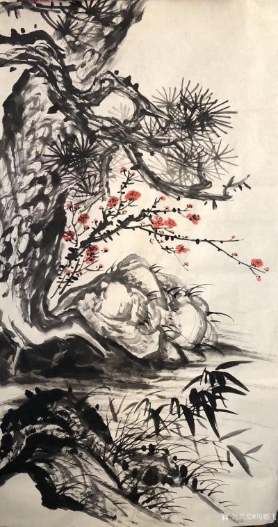 周鹏飞日记-节来避瘟,近二十天矣,回望自1991年国家画院及上海美术馆个展,已30年矣,其间【图2】
