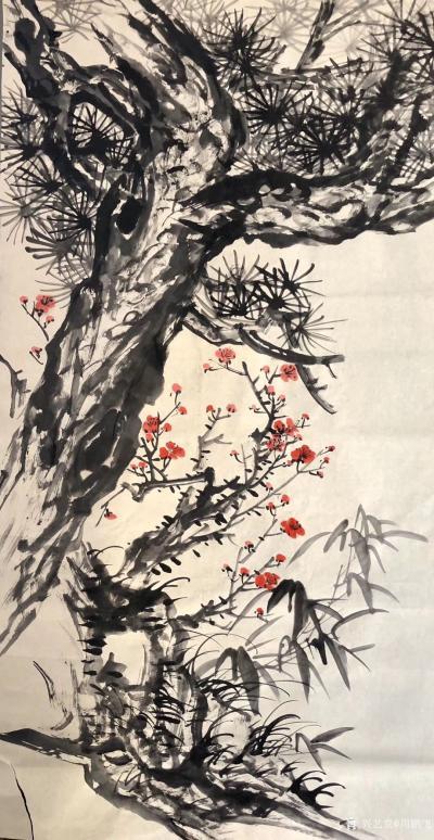 周鹏飞日记-节来避瘟,近二十天矣,回望自1991年国家画院及上海美术馆个展,已30年矣,其间【图3】
