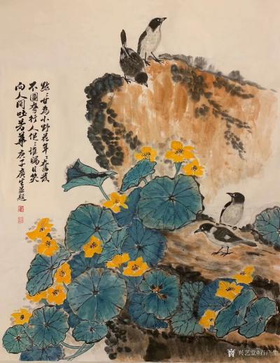 石广生日记-画了半天,我都不知道路边这种花叫什么名字,证明它太普通了,以至于人们都懒得知道它【图1】