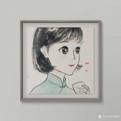 刘晓宁日记-美女肖像漫画变身漫画,香香漫画肖像~~私人订制【图1】