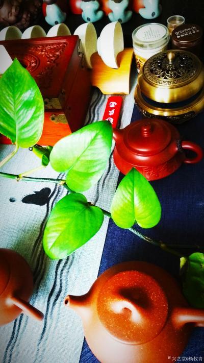 杨牧青日记-千秋大业一壶茶,万丈红尘三杯酒。 三尺对联于一一水墨三晋.杨牧青书画太原创作交流【图2】