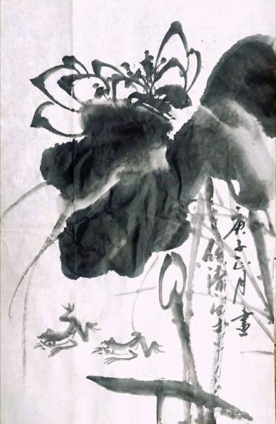 任清宇日记-任清宇国画写意花鸟画作品欣赏,庚子年春月疫情期间作品6幅,请欣赏;  非常時期【图1】