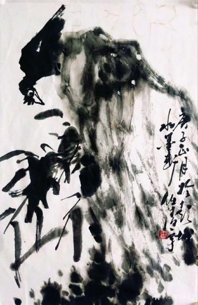 任清宇日记-任清宇国画写意花鸟画作品欣赏,庚子年春月疫情期间作品6幅,请欣赏;  非常時期【图2】