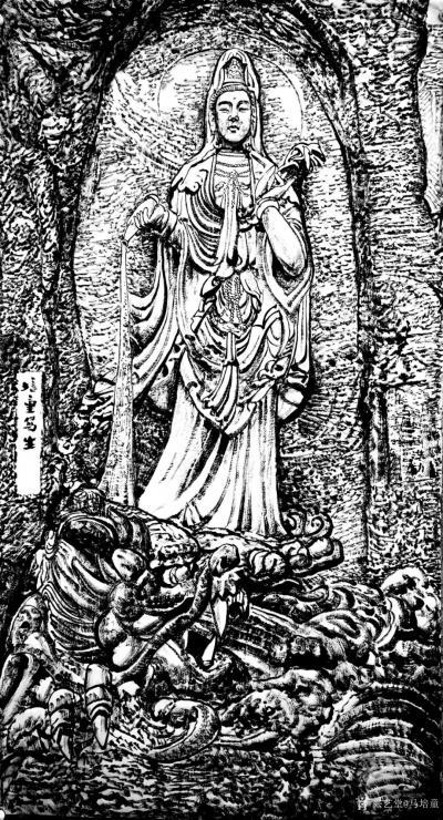 """马培童日记-""""焦墨画特点之神从形生""""童心写历(27)   创作焦墨画好的作品,要表现出""""出【图2】"""