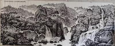 """马培童日记-""""焦墨,灵魂的修炼""""童心写历(28)   焦墨,是中国最古老的传承绘画技法,黑【图2】"""