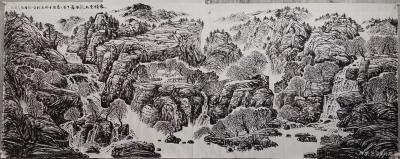 """马培童日记-""""焦墨,灵魂的修炼""""童心写历(28)   焦墨,是中国最古老的传承绘画技法,黑【图3】"""