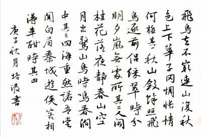 陈培泼日记-学书系列:录《裴将军诗》,《望江南·西方好》; 《裴将军诗》全文内容: 裴将【图3】