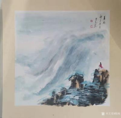 陈刚日记-万万没想到,封年之笔竟然以悼念冒险王王相军遇难而作的几幅中国画。 对于大自然的【图1】