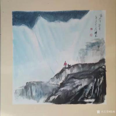 陈刚日记-万万没想到,封年之笔竟然以悼念冒险王王相军遇难而作的几幅中国画。 对于大自然的【图2】