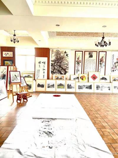 叶仲桥日记-广东汉莎画院全体书画家向各位社会精英人士致以新年的祝福和问候,期望在新的一年继续【图2】
