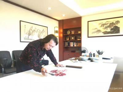 叶仲桥日记-广东汉莎画院全体书画家向各位社会精英人士致以新年的祝福和问候,期望在新的一年继续【图3】