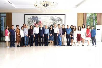 叶仲桥日记-广东汉莎画院全体书画家向各位社会精英人士致以新年的祝福和问候,期望在新的一年继续【图6】