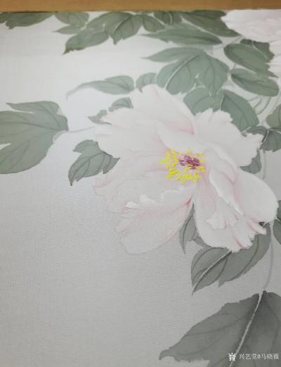 马晓薇日记-花卉写生工笔画牡丹十二品——赵粉,网课示范作品。【图3】