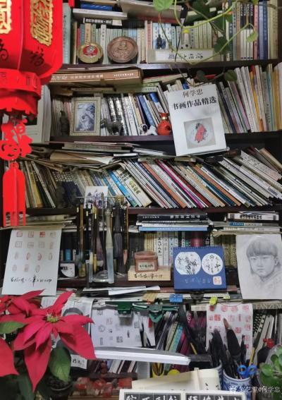 """何学忠收藏-平生所好读书、写字、画画、偶尔收藏,这不""""读书日""""前又买了几本画册和几套连环画。【图6】"""