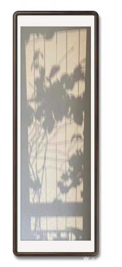 石广生日记-阳光国画:也许是天公感觉我墙壁太空,缺乏装饰,每天都让阳光给我送来一幅画,并直接【图3】