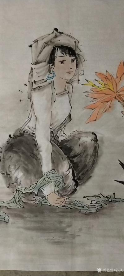 谷风日记-都是一个人画的,看有什么区别? 这就是手绘作品和同复印的区别,所以手绘的作品永【图2】