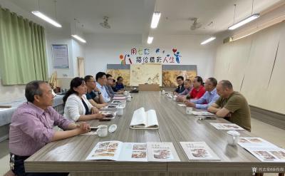 孙传海日记-传承经典 你我同行——艺术家工作室揭牌仪式在滨江小学举行  2021年5月22【图2】