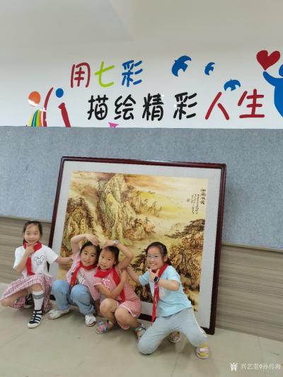 孙传海日记-传承经典 你我同行——艺术家工作室揭牌仪式在滨江小学举行  2021年5月22【图5】