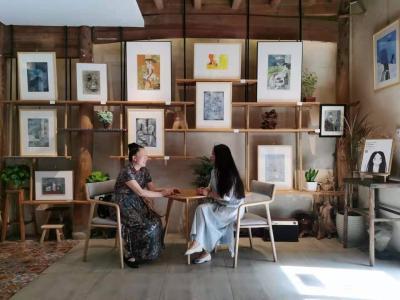 刘晓宁日记-香香漫画作品陆续被收藏,感谢藏家,画展作品可收藏,作品比较多,想收藏询价的我把作【图8】